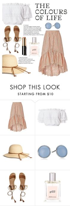 """only light"" by kate0810 ❤ liked on Polyvore featuring LoveShackFancy, Skagen, Hollister Co., philosophy and Bobbi Brown Cosmetics"