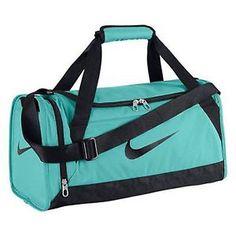 Nike New Brasilia 6 Duffel Bag XS BA4911-409 Aqua Blue Mint 5a8f47a81e321