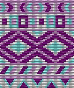 Pattern for my own mochila bag:) made with the program: Eas Tapestry Crochet Patterns, Bead Loom Patterns, Beading Patterns, Crochet Stitches, Cross Stitch Patterns, Knit Crochet, Filet Crochet, Wiggly Crochet, Mochila Crochet