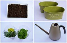 A Life Lounge: Kruiden in een potje http://alifelounge.blogspot.be/2014/10/kruiden-in-een-potje.html Herbs, kruiden, DIY