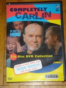 Completely George Carlin As Seen On HBO Six 6 Disc Set DVD Collection New - Foxy Roxy Collectables