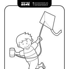 31 Gambar Anak Bermain Layang Layang Kartun Contoh Gambar Mewarnai Gambar Anak Bermain Layang Layang Download Gambar Ilust Kartun Layang Layang Ilustrator