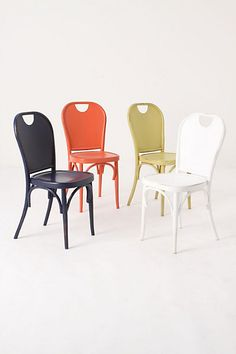 Henri dining chairs on sale at Anthro for $99. Not a bad price if you're looking for a darling chair!