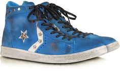 Converse Limited Edition Riviera Blu Suede Pro Leather Mid Sneaker w/Crystals http://www.shopstyle.com/action/loadRetailerProductPage?id=433908251&pid=uid1209-1151453-20