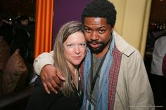 Stephanie Shadden & Floco Torres at Macon Film Festival after party. 2013