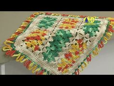 Vida com Arte   Lugar Americano em Crochê por Marta Araújo - 11 de Maio ...