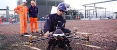 Engineers testing with drones energy to grow