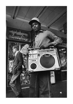 B-Boy - Loud n proud! Reminds me of the South Bronx when I was a child. The boom boxes blaring in the hand-ball courts and playgrounds. :D