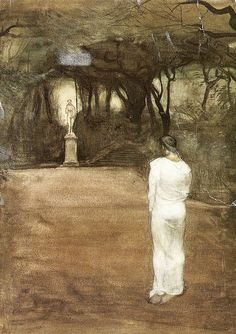 Painting by Magnus Enckell (Finland 1895)