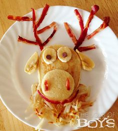 Reindeer Games: Kids' mouths will water over this Sven-inspired dish from The Joys of Boys.  Source: The Joys of Boys