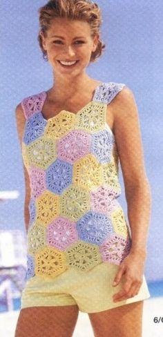 top aux hexagones colores pag 4