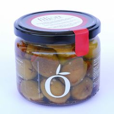 Green Olives from Halkidiki stuffed with sundried tomatoes