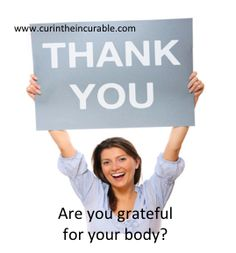 Are you grateful for your body? Invitation to Worldwide telecall kicking out limitation and creating an amazing body - telecall/series, worldwide, with the guru of cute not bright: Liam Phillips http://www.accessconsciousness.com/class_details.asp?cid=53552
