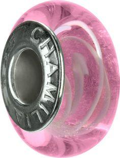 Light Pink Swirl- Murano