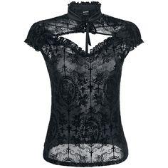 Banned  T-Shirt  »Dark Lady« | Jetzt bei EMP kaufen | Mehr Gothic  T-Shirts  online verfügbar ✓ Unschlagbar günstig!
