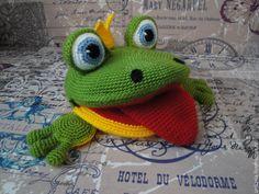 Лягушка для логопеда: вяжем развивающую игрушку - Ярмарка Мастеров - ручная работа, handmade
