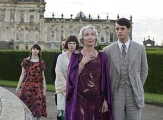 Still of Emma Thompson and Hayley Atwell in Brideshead Revisited (2008)