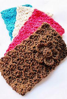 Flower Girl Cottage - FREE Crochet Headband and Flower Patterns - A Crochet Bucket List Project (CBL Project) • Oombawka Design Crochet