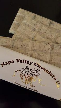 White Chocolate Cookies and Cream Bar by Napa Valley Chocolate Company #chocolate #whitechocolate
