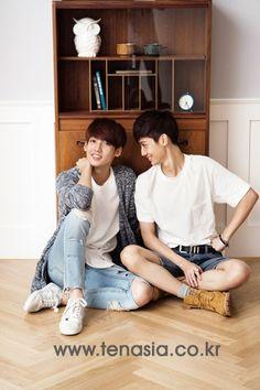 Boyfriend kpop group - Jo Twins <3 Youngmin & Kwangmin