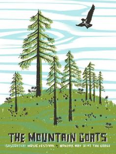 Flyer Goodness: Amazing Gig Posters from Sasquatch Festival 2010