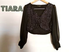 Sequins Jacket at Tiara By Roshini Shah - sequins jacket with sheer georgette sleeves  ~ for a fun night out!