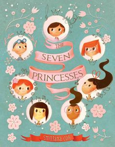 Once upon a time, there were seven princess sisters who filled their kingdom with sounds of joy and laughter. But they did not always get along. . . . One day, when they had the biggest fight in the e