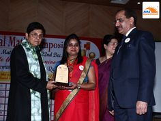 AVAS franchise honored by Dr Kiran Bedi