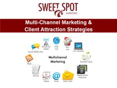 Multi-Channel Marketing Training with Sweet Spot Marketing Canada Multi-Channel marketing seeks to establish a presence across the many places your ideal customers hangout both online and offline  http://sweetspotmarketingacademy.ca/contact