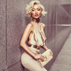Reposting @leonacreo: 🌟 A new perfect shiny day and I'm feeling golden and beautiful. 🌟#luxuryfashion #photooftheday #photography #gold #photoshoot #model #igdaily #igfashion #potd #fashion #fashiongram #fashionable #fashionista