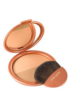 I adore this product for contouring or adding a bronzed glow to fair toned skin - estee lauder duo bronzer