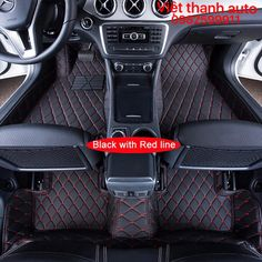 Floor Mats Accessories Accessory Protector Interior Modification Styling Modified Automovil Carpet Car Floor Mats For Hyundai Elantra