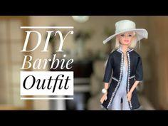 DIY Jumpsuit, Denim Jacket & Hat for Barbie! ✂️ Sewing Tutorial! Complete outfit! - YouTube Barbie Dolls Diy, Barbie Stuff, Diy Doll, Barbie Clothes, Sewing Tutorials, Sewing Ideas, Barbie Patterns, Barbie Accessories, Hobby