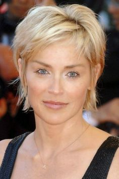 short pixie cuts for older women - Google Search