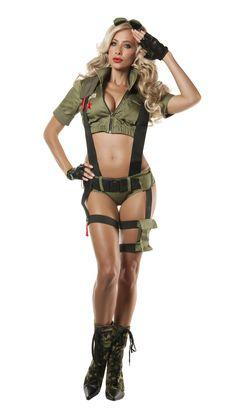 faa14152d49 Starline Paratrooper Penny Costume Women s Costume - Nastassy Pin Up Girl  Costume
