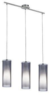 90305 Pinto Nero 3 Light Glass Ceiling Pendant