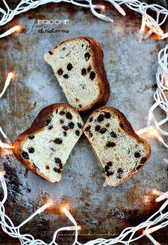 Brioche for Christmas - Pan Brioche di Natale con uvetta e lievito madre