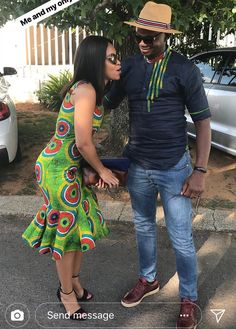 Beautiful African Couple Styles 2019 by diyanu fashion magazine African Traditional Wedding, African Traditional Dresses, Traditional Outfits, African Men Fashion, African Fashion Dresses, African Dress, Classy Outfits, Stylish Outfits, Classy Clothes