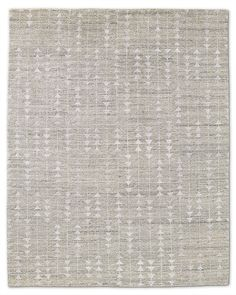 Rug with a subtle pattern from Restoration Hardware (look for a less expensive version)
