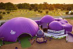 Structure gonflable pour le secteur événementiel inflate design ltd.