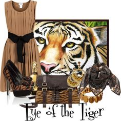 """Eye of the Tiger"" by brendariley-1 on Polyvore"
