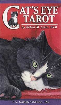 Every card in the Cat's Eye Tarot tells a story, as depicted from the feline point of view, offering a delightful spin upon the traditional Rider-Waite interpretations of the classic Tarot. 64 page bo