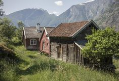 Lofoten, Cabins, Habitats, Boards, Houses, Inspired, Architecture, House Styles, Green