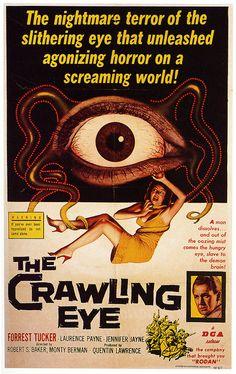 The crawling eye. #horror
