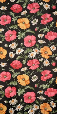 floral wallpaper - running meter o. Vintage Flowers Wallpaper, Beautiful Flowers Wallpapers, Pretty Backgrounds, Simple Wallpapers, Pretty Wallpapers, Flower Wallpaper, Flower Vintage, Iphone 7 Plus Wallpaper, Trippy Wallpaper