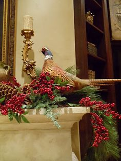 love pheasants....may try to incorporate mine!