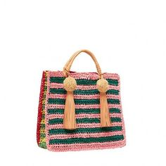 Straw Travel Tote