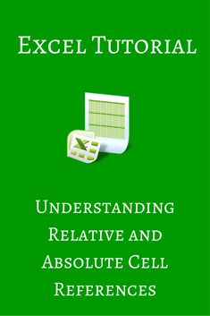 We show you how to use relative and absolute cell references in Excel when you are constructing formulas and copying them to other cells.