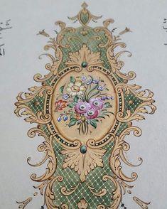 Islamic Art Pattern, Pattern Art, Italian Pattern, Baroque Pattern, Mandala, Roman Art, Rococo Style, Ornaments Design, Album Design