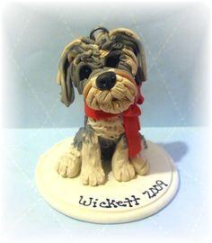 Custom Pet Christmas Ornament by lynnslittlecreations on Etsy